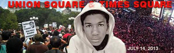 Trayvon Union Square