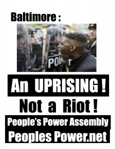 Baltimore uprising