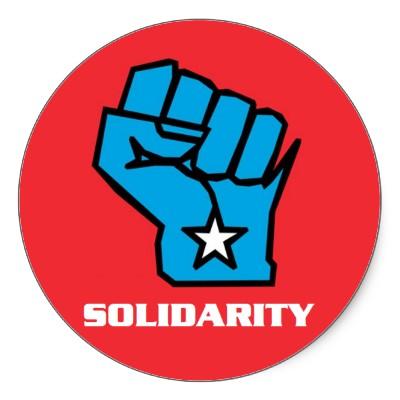 Wisconsin FIST Solidarity Logo